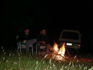 Campeggio in Tasmania