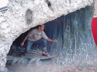 Fausto fa surf