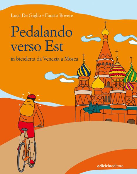 Pedalando verso est, la copertina