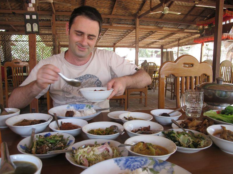 cibo in birmania