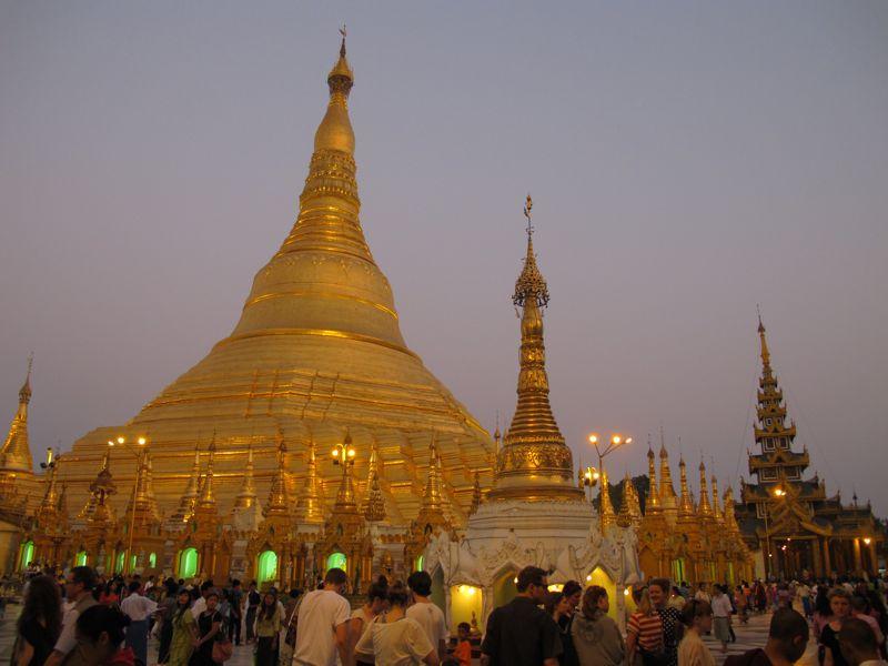 guida birmania Shwedagon pagoda