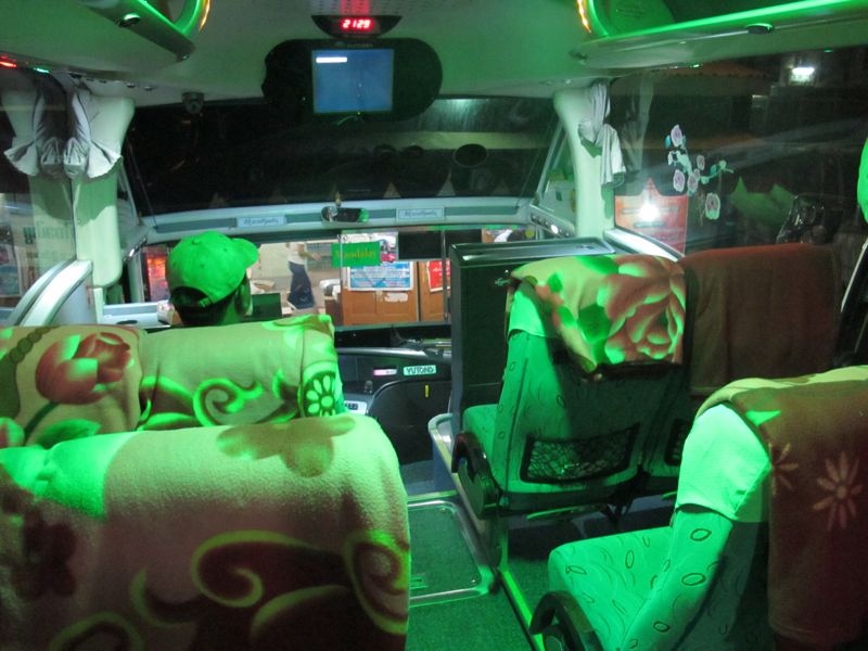 guida birmania bus