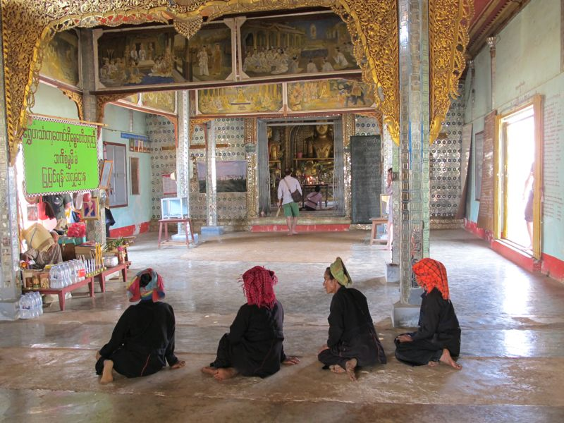 guida birmania tempio