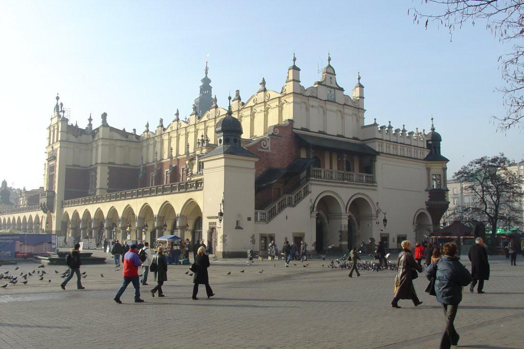 cracovia piazza del mercato